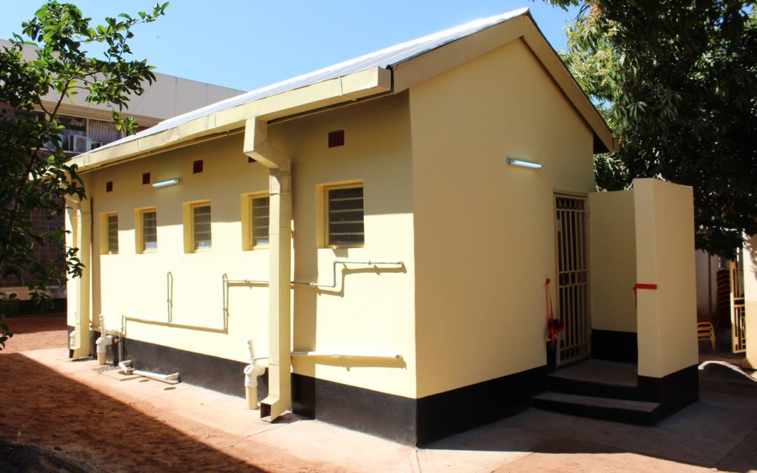 Handover of new ablution block to the Museum